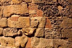 Roman wall, Barcelona Royalty Free Stock Photography