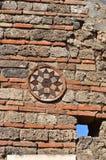Roman Wall Decoration stockfotos
