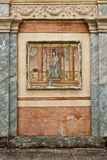 Roman Wall Fresco Stock Image