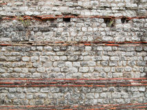 Roman Wall, London Stock Photography