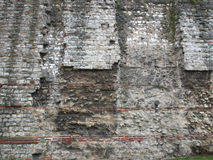 Roman Wall, London Stock Image