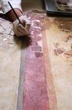Roman Wall Paintig Stock Photos