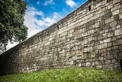 Roman Wall Royalty Free Stock Photo