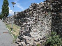 Roman walls Stock Photos