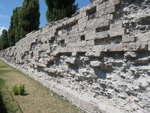 Roman walls Royalty Free Stock Images
