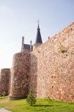 Roman walls, Astorga Stock Photos