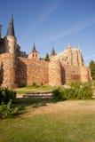 Roman walls and Episcopal Palace, Royalty Free Stock Photos