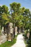 Roman walls Royalty Free Stock Photo