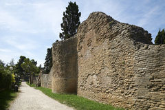 Roman walls Stock Images