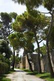 Roman walls Stock Image
