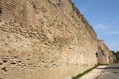 Roman walls Stock Photo