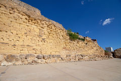 Roman walls of Tarragona Stock Photo