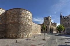 Roman walls Royalty Free Stock Photography