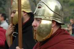 Roman warrior Royalty Free Stock Image