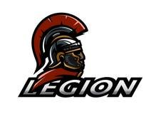 Roman Legionnaire logo. Royalty Free Stock Photography