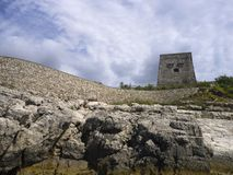 Roman Watch Tower Image stock