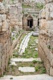 Roman waterworks system Greece Stock Photos