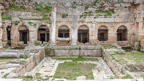 Roman waterworks system Greece Royalty Free Stock Image