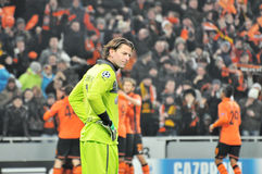 Roman Weidenfeller sad Royalty Free Stock Photography