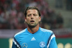Roman Weidenfeller Royalty Free Stock Photography