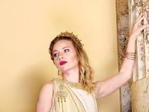 Roman woman Royalty Free Stock Image