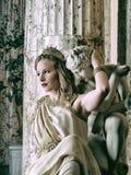 Roman woman Stock Photo
