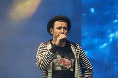 Roman Yagupov från den musikbandZdob si Zdub Fotografering för Bildbyråer