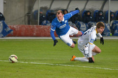 Roman Zozulya in penalty area Stock Photo