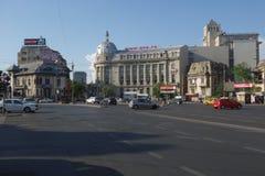 Romana Square em Bucareste Fotos de Stock Royalty Free