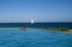 Romance на океане Стоковое фото RF