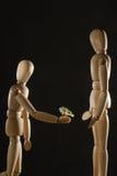 Romance Photographie stock libre de droits