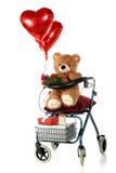 Romance adulto sênior Imagem de Stock Royalty Free