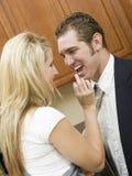 Romance allegro Fotografia Stock Libera da Diritti