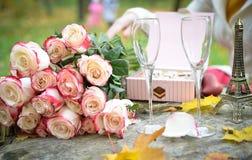 Romance Aufbau. lizenzfreies stockfoto