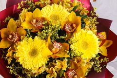 Romance flower bouquet Royalty Free Stock Images