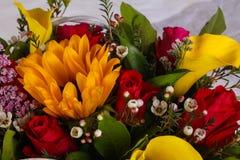 Romance flower bouquet. Romance bouquet with various flower Stock Photography