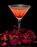 Romance and Cocktails Stock Photography
