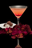 Romance and Cocktails Stock Images