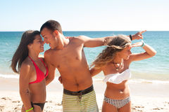 Romance d'été Photo libre de droits