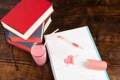 Romance d'université Photographie stock