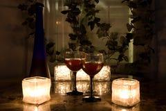 Romance de fin de nuit Image libre de droits