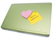 Romance de la oficina Imagen de archivo libre de regalías