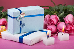 Romance de Valentine Images libres de droits