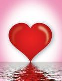 romance del corazón Fotos de archivo libres de regalías