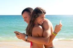 Romance del verano Fotografía de archivo libre de regalías