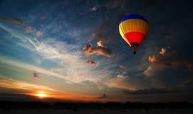Romance del volo Fotografia Stock Libera da Diritti