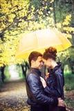 Romance di autunno Fotografia Stock Libera da Diritti