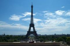 Romance di Eiffel Fotografia Stock