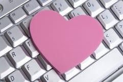Romance do escritório Fotografia de Stock Royalty Free