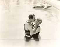 Romance do verão Foto de Stock Royalty Free